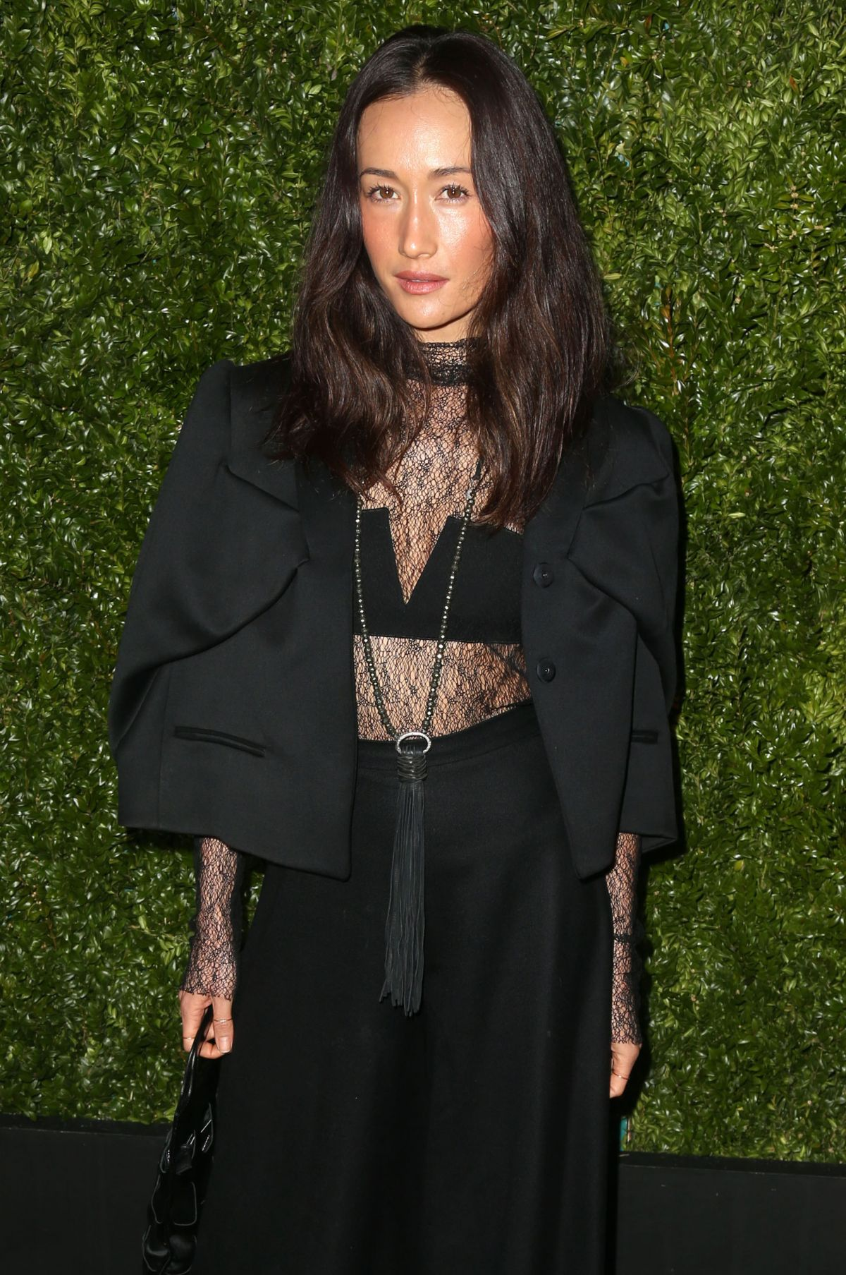 MAGGIE Q at Chanel Dinner at Tribeca Film Festival in New York