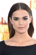 MAIA MITCHELL at 2015 MTV Movie Awards in Los Angeles