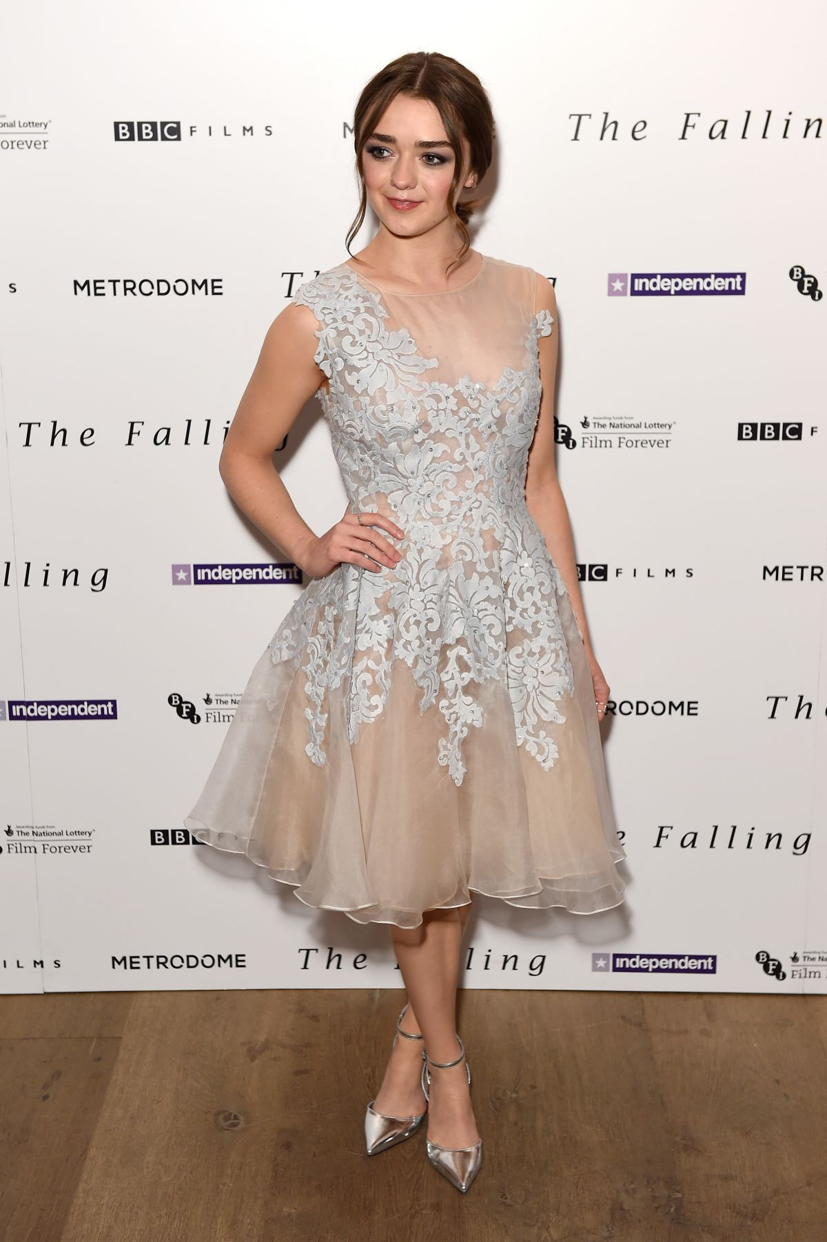 MAISIE WILLIAMS at The Falling London Gala Premiere in