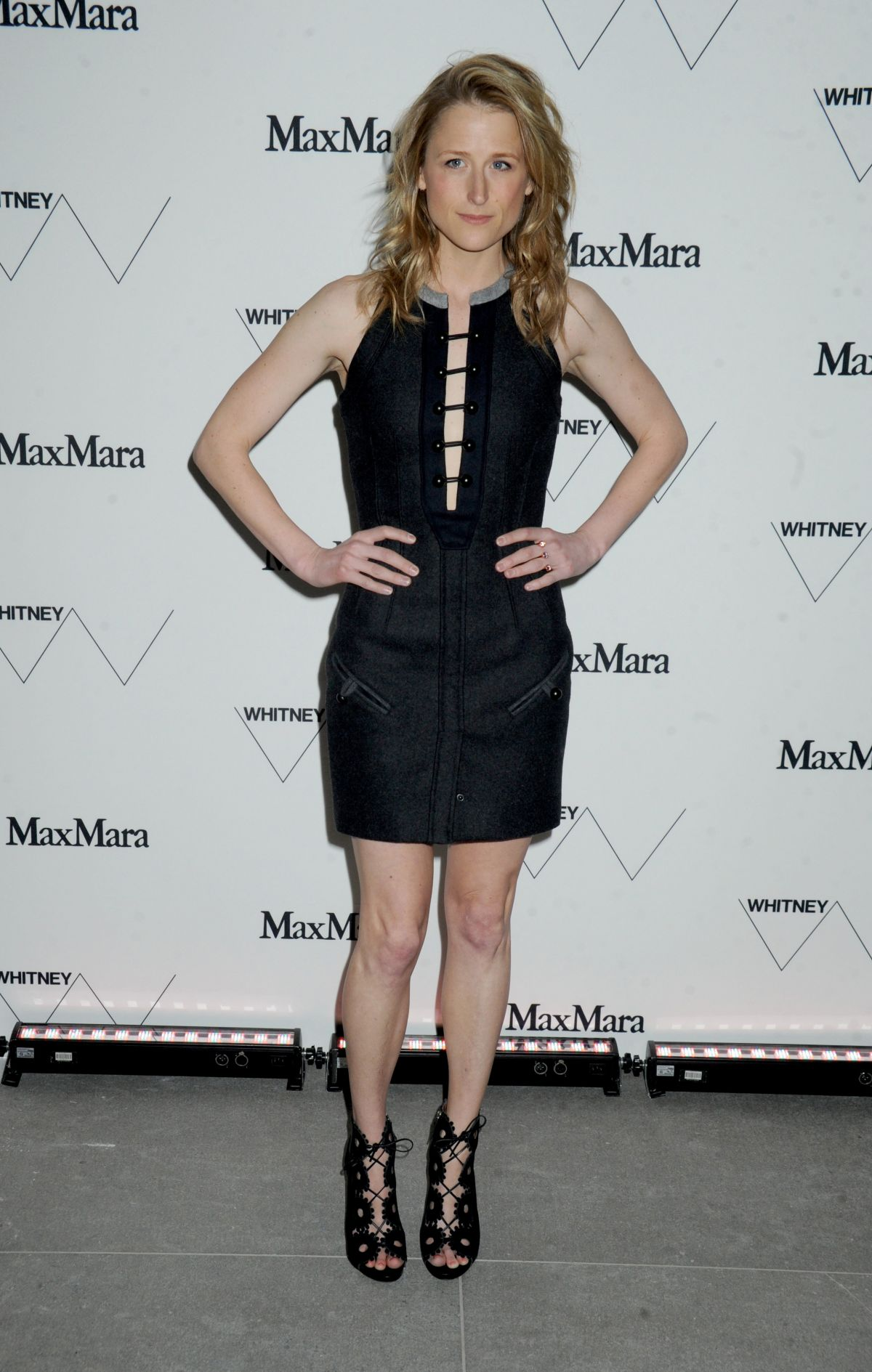 MAMIE GUMMER at Whitney Museum of American Art Opening in New York