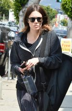 MANDY MOORE Leaves a Yoga Class in Los Angeles 04/23/2015