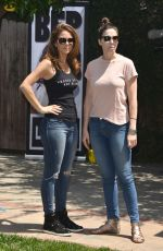 MARIA MENOUNOS at Beagle Freedom Project in Valley Village