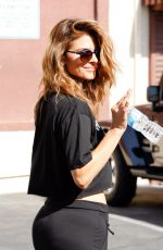 MARIA MENOUNOS at DWTS Studio in Hollywood 04/20/2015