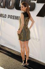 MARIA MENOUNOS at Furios 7 Premiere in Hollywood