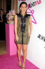 MARIA MENOUNOS at Justfab Ready-to-wear Launch Party in West Hollywood