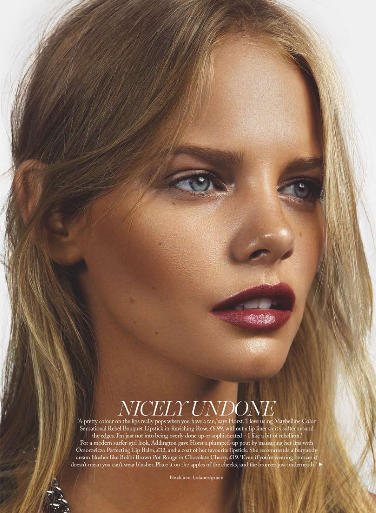 Young Marloes Horst nude photos 2019