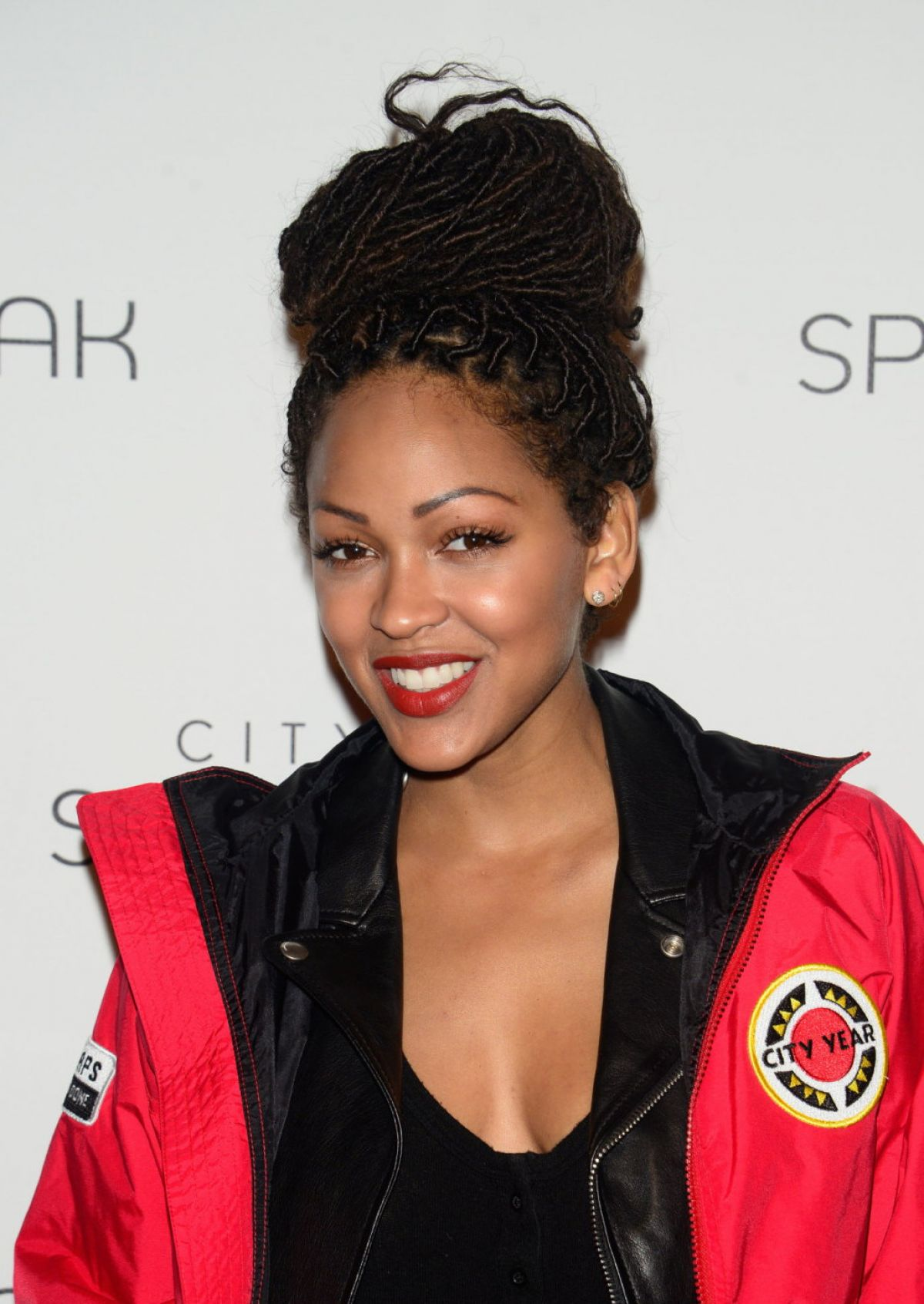 MEAGAN GOOD at City Year Los Angeles Spring Break in Los Angeles