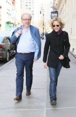 MEG RYAN Out and About in New York 04/22/2015