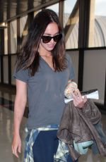MEGAN FOX Arrives at Los Angeles International Airport 04/23/2015