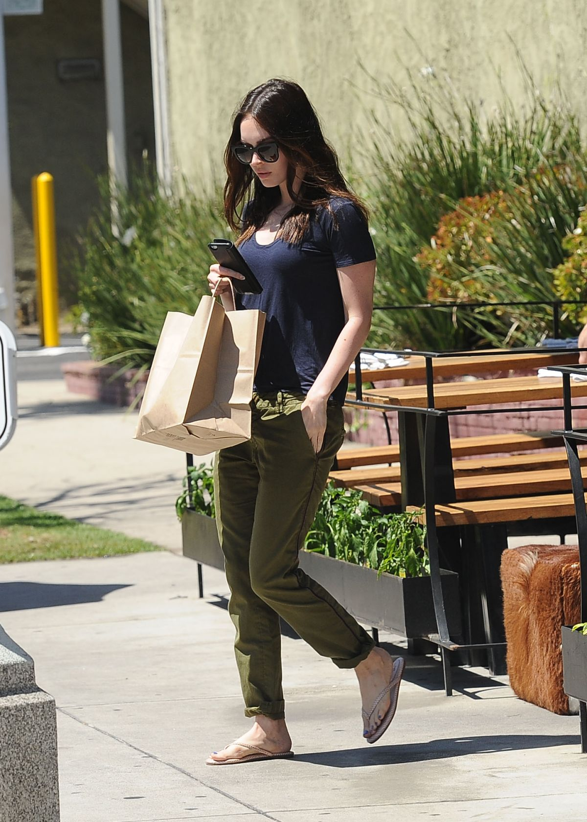 MEGAN FOX Out and About in Los Angeles 04/19/2015