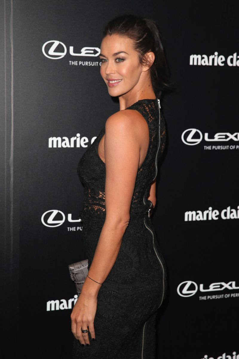MEGAN GALE at 2015 Prix De Marie Claire Awards in Sydney