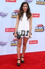 MEGAN NICOLE at 2015 Radio Disney Music Awards in Los Angeles