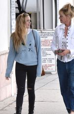 MELANIE GRIFFITH Out and About in Los Angeles 04/22/2015