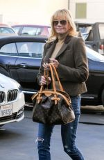 MELANIE GRIFITH Out and About in Beverly Hills