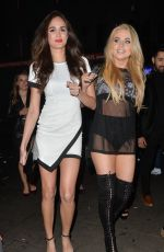 MELISSA REEVES at Birthday Party at Cafe de Paris in London