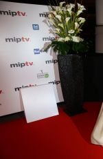 MENA SUVARI at miptv 2015 Opening Party in Cannes