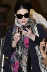 MICHELLE TRACHTENBERG at Ronald Reagan Airport in Washington 04/23/2015