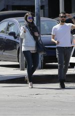 MICHELLE TRACHTENBERG Out and About in West Hollywood