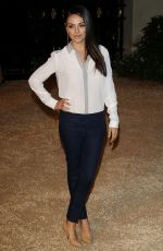 MILA KUNIS at Burberry London in Los Angeles Event in Los Angeles