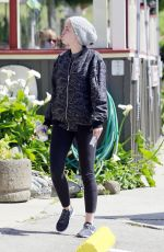 MILEY CYRUS Out and About in Hollywood