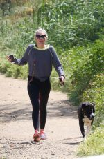 MILEY CYRUS Out Hiking in Hollywood Hills