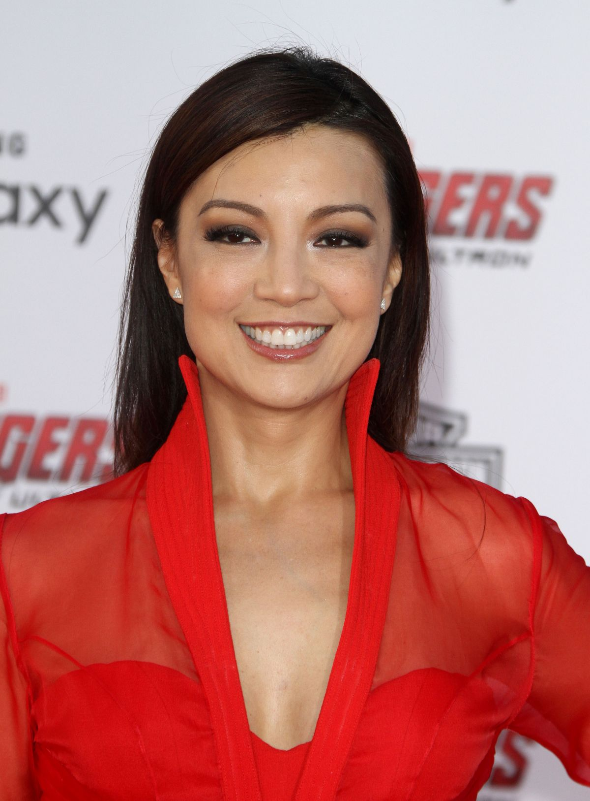 MING-NA WEN at Avengers: Age of Ultron Premiere in ...