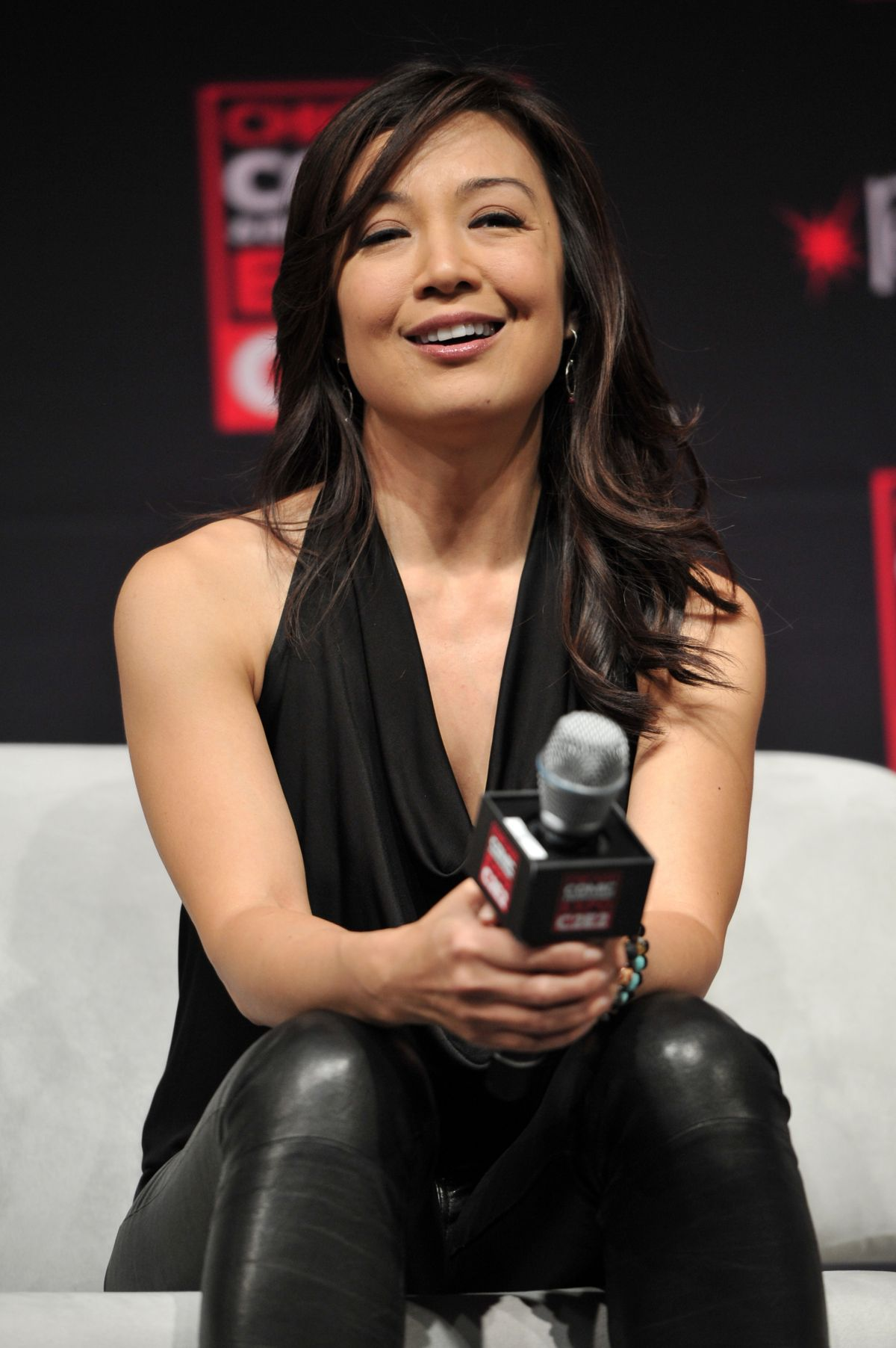 MING-NA WEN at Chicago Comic and Entertainment Expo ...