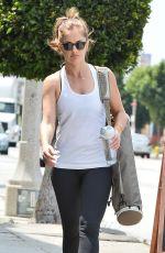 MINKA KELLY Leaves a Yoga Class in Los Angeles 04/23/2015
