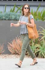 MINKA KELLY Out and About in Los Angeles 04/22/2015