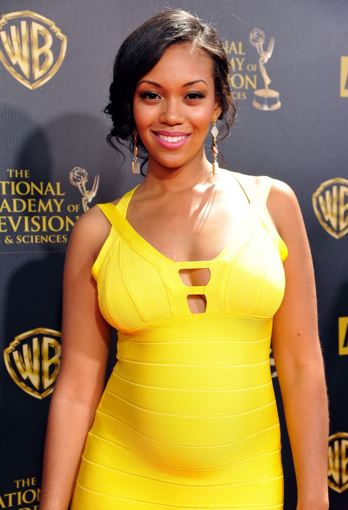 MISHAEL MORGAN at 2015 Daytime Emmy Awards in Burbank