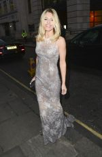 MOLLIE KING at LDNY Fashion Show and Wie Award Gala in London