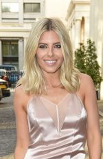 MOLLIE KING at Magnum Pink and Black Launch Party in London