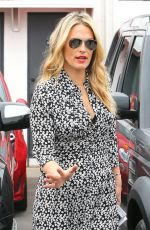 MOLLY SIMS Out and About in West Hollywood 04/24/2015
