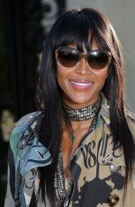 NAOMI CAMPBELL at Burberry London in Los Angeles Event in Los Angeles