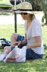 NAOMI WATTS Out and About in Brentwood 04/19/2015