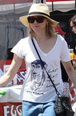 NAOMI WATTS Out for Lunch at Farmers Market in Brentwood