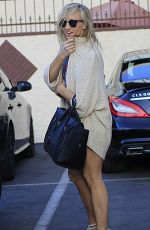 NASTIA LIUKIN Arrives at Dancing with the Star Practice in Studio City