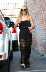 NASTIA LIUKIN Arrives at Dancing with the Star Set in Hollywood 04/26/2015
