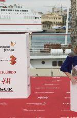 NATALIA DE MOLINA at Solo Química Photocall in Malaga