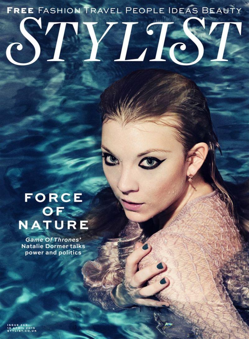 NATALIE DORMER in Stylist Magazine, April 2015 Issue