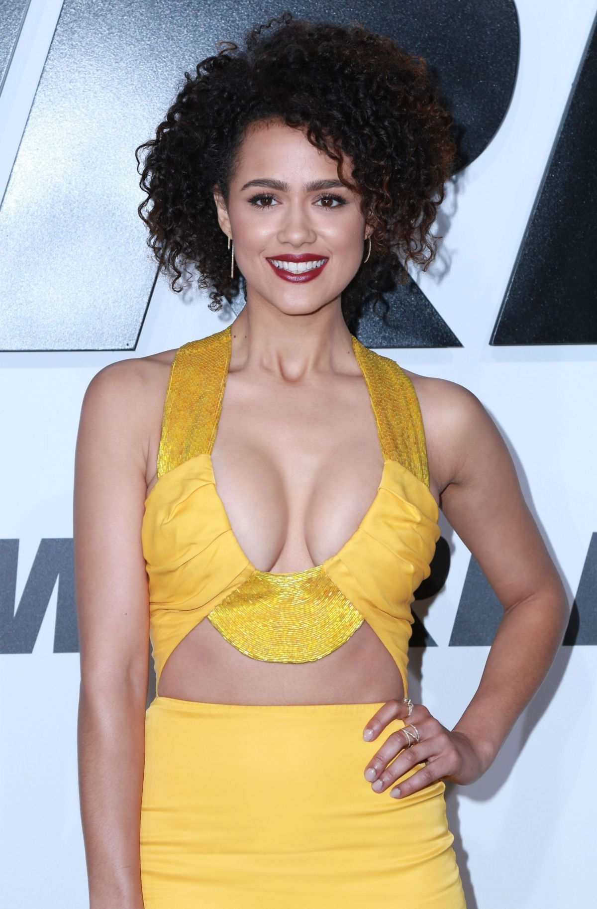 NATHALIE EMMANUEL at Furious 7 Premiere in Hollywood