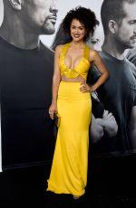 NATHALIE EMMANUEL at Furious 7 Premiere in Hollywood