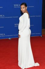 NAYA RIVERA at White House Correspondents Association Dinner in Washington