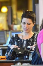 NEVE CAMPBELL at Grocery Shopping in Hollywood