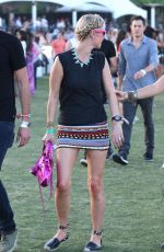 NICKY HILTON at Coachella Music Festival, Day 3
