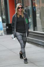 NICKY HILTON Heading to a Gym in New York 04/17/2015