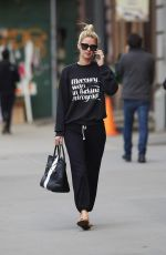 NICKY HILTON Out and About in New York 04/20/2015