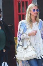 NICKY HILTON Out and About in New York 04/21/2015