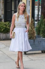 NICKY HILTON Out and About in New York 04/23/2015