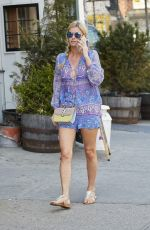 NICKY HILTON Out and About in the East Village 04/18/2015